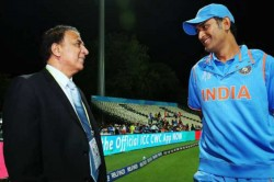 Sunil Gavaskar Says Don T Think Ms Dhoni Would Be Part Of Indian Squad For T20 World Cup