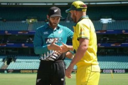 Coronavirus Impact Aaron Finch Kane Williamson Shake Hands Out Of Habit After Coin Toss In Sydney