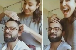 Anushka Sharma Turns Hairstylist For Virat Kohli During Quarantine