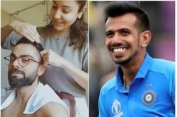 Yuzvendra Chahal Hilariously Trolls Virat Anushka S Haircut Video