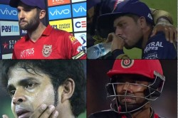 Instances When Cricketers Cried In Ipl