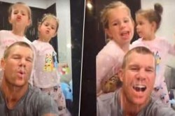Australia Cricketer David Warner Debuts On Tiktok After Request From His 5 Year Old Daughter