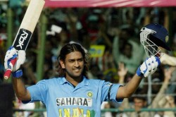 On This Day Ms Dhoni S Maiden International Hundred