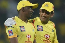 How Ms Dhoni Challenged Dwyane Bravo For A Race After Ipl 2018 Final