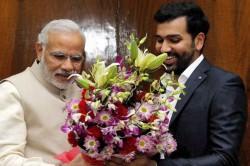Prime Minister Narendra Modi Thanks Rohit Sharma Mithali Raj For Contributing To Pm Cares Fund