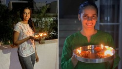 Sachin Kohli Mithali Saina Sindhu And Others Express Solidarity With Nation By Lighting Candles Diy