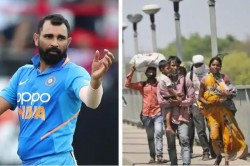 Mohammed Shami Says A Labourer Travelling From Rajasthan To Bihar Fainted In Hunger Near My Home