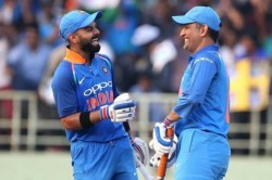 We Don T Even Need To Talk Virat Kohli Says Enjoy Batting With Ms Dhoni Ab De Villiers