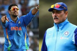 Yuvraj Singh Points It Out To The India Head Coach Ravi Shastri On Twitter