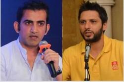 Gautam Gambhir Slams Shahid Afridi Over Spewing Venom Against India And Pm Modi