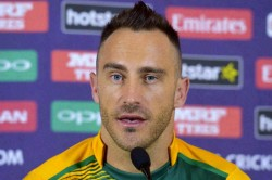 Faf Du Plessis Avoids Reading Too Much News