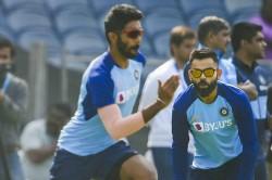 Babar Azam In Virat Kohli Out Premier Pacer Jasprit Bumrah Only Indian In Aakash Chopras World T20i