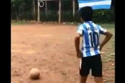 Watch This Twelve Year Kid Is Now A Social Media Sensation Lauded As Kerala Messi