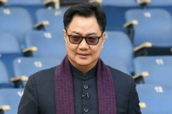 Kiren Rijiju Says No Sporting Events In Near Future