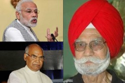 Pm Narendra Modi Pained By The Demise Of Hockey Legend Balbir Singh Sr