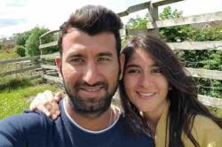 Cheteshwar Pujara Gets Haircut From Wife Shares Funny Post On Social Media