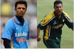When Waqar Younis Was Baffled By Rahul Dravid S Batting Brilliance In 1996 Indo Pak Series