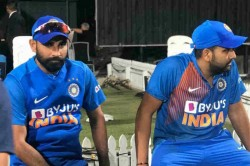 Whenever Mohammed Shami Sees A Green Pitch He Eats Extra Biriyani Says Rohit Sharma
