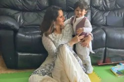 Sania Mirza Shared An Adorable Picture With Her Son Izhaan On Eid