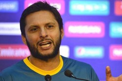 Shahid Afridi Hasn T Forgotten Beating He Received At Hands Of Tendulkar Ganguly And Sehwag