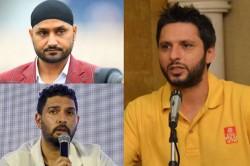 Shahid Afridi Responds On Yuvraj Harbhajan Singh S Reaction Against Him Over Controversial Remarks