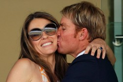 Shane Warne Says Quite Sad It S Over Because I Still Care About Her On His Split With Elizabeth