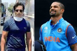 Shikhar Dhawan Salutes Bollywood Actor Sonu Sood For Rescuing Stranded Migrant Workers