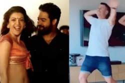 David Warner Wishes Jr Ntr Birthday By Dancing To Pakka Local Song
