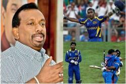 Former Sri Lanka Sports Minister Mahindananda Says 2011 World Cup Final Fixed Claims His Suspicion