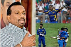 Former Sri Lanka Sports Minister Mahindananda Aluthgamage Backs His 2011 World Cup Final Match
