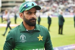 Mohammad Hafeez S Second Report Tests Negative For Coronavirus