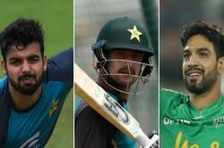 Pakistan Cricketers Haider Ali Shadab Khan And Haris Rauf Test Positive For Coronavirus