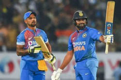 Shikhar Dhawan Says Rohit Sharma Invincible Once He Gets Going
