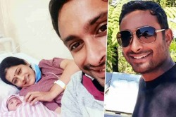 Ambati Rayudu And Wife Chennupalli Vidya Blessed With A Baby Girl