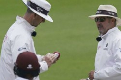 Dominic Sibley Becomes First Cricketer To Break No Saliva Rule Umpires Rush To Sanitise Ball