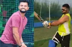 Team India Cricketrs Suresh Raina Rishabh Pant Hit The Nets Together