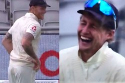 Joe Root Couldn T Control His Laughter As Ben Stokes Tries To Hide Brown Stain On His Trousers