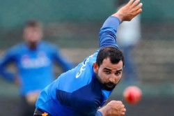 Indian Bowler Mohammed Shami Returns To Net Practice Session At Farmhouse With His Brothers