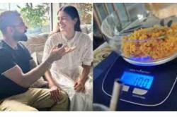 Anushka Sharma Shows How Virat Kohli Ensures Measured Eating In Their House