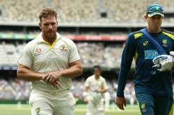 Aaron Finch Says I Don T Think It S Realistic To Play Test Cricket Again