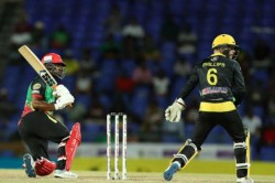 Evin Lewis Half Century Helps St Kitts And Nevis Patriots To Reach Target