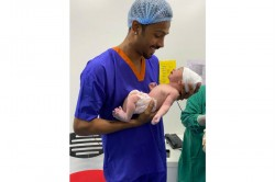 Hardik Pandya Shares First Full Picture Of His Baby Boy