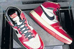 Michael Jordan S Sneakers Sell For Record Breaking Rs 4 6 Crores