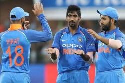 Icc Odi Rankings Virat Kohli Rohit Sharma And Jasprit Bumrah Hold On To Top Spots