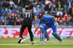 Ms Dhoni Run Out In First International Match And Run Out In The Last Match