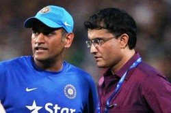 Sourav Ganguly Says Ms Dhoni Had Superb Big Hitting Abilities He Was Rare