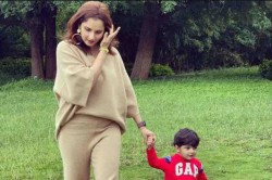 Sania Mirza And Son Izhaan Enjoy A Walk In New Post
