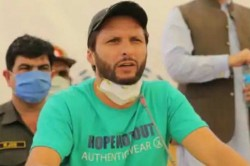 Indian Team Was Lucky Shahid Afridi On His Failures Against India In World Cups