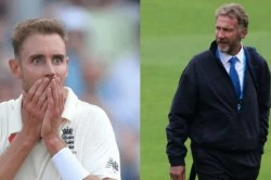 England Pacer Stuart Broad S Priceless Tweet After Father Chris Broad Fines Him