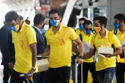 Ipl 2020 All The Players And Support Staff From Chennai Super Kings Have Been Tested Negative